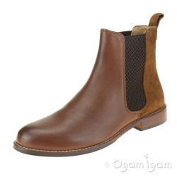 Hush Puppies Chloe Womens Brown Chelsea Boot