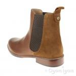 Hush Puppies Chloe Womens Brown Chelsea Boot