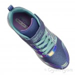 Skechers SpeedRunner SweetFreeze Girls Lavendar Aqua Trainer