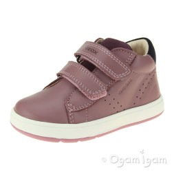Geox Biglia Girls Rose Smoke-Prune Boot