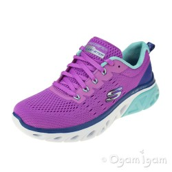 Skechers Glide Step Sport Womens Fuschia Trainer