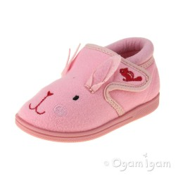 Chipmunks Katie Girls Pink Slipper