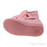Chipmunks Katie Girls Pink Slipper