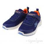 Skechers Dynamic Tread Boys Navy Waterproof Trainer