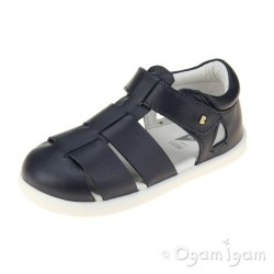 Bobux Tidal Boys Girls Navy Sandal