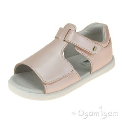 Bobux Mirror Junior Girls Seashell Shimmer Sandal