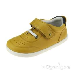 Bobux Ryder Senior Boys Chartruese-Navy Shoe