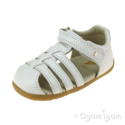 Bobux Jump Infant Girls White Sandal