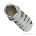 Bobux Jump Infant Girls White Sandal