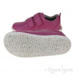 Bobux Grass Court Girls Raspberry Shoe