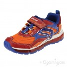 Geox Android Boys Red/Royal Trainer