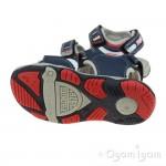 Primigi 7450244 Boys Navy/Red Sandal