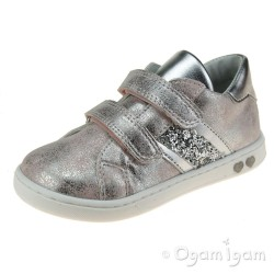 Primigi 7404011 Girls Blush/Silver Shoe