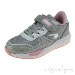 Primigi 7453400 Girls Silver Trainer