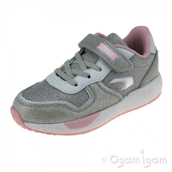 Primigi 7453400 Girls Silver Trainer