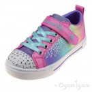 Skechers Twinkle Stars Winged Magic Girls Hot Pink/Multi Trainer