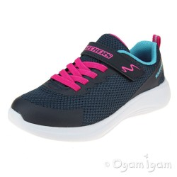 Skechers Selectors Jammin Jogger Girls Navy Trainers