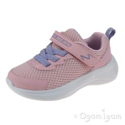 Skechers Selectors Jammin Jogger Girls Light Pink Trainers