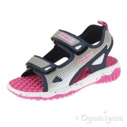 Primigi 7449911 Girls Blue/Pink Sandal