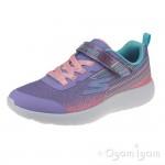 Skechers Dyna-Lite Shimmer Streaks Girls Lavender/Multi Trainer