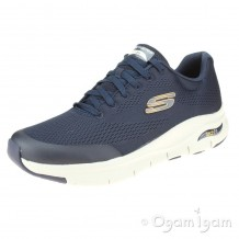 Skechers Arch Fit Mens Navy Trainer
