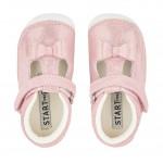 Start-rite Wiggle Infant Girls Metallic Pink Shoe