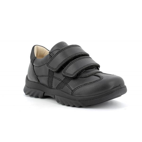 Primigi 63946 Boys Black School Shoe