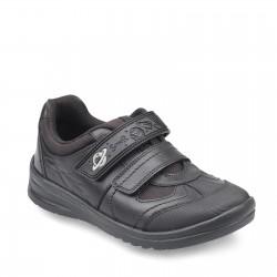 Start Rite Rocket Boys Black School Shoe