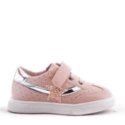 Glitter Star Girls Pink Trainer