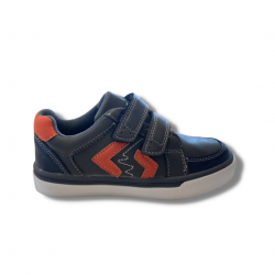 Scratch Boys Grey Trainer Shoe