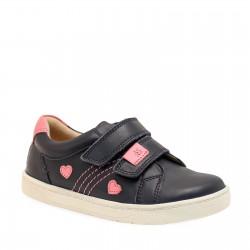 Start-rite Fantasy Girls Navy Shoe