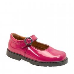 Start-rite Destiny Girls Berry Glitter Patent Shoe