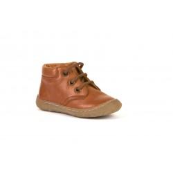Froddo G2130238 Boys Girls Cognac Lace Up Boot
