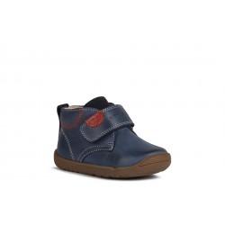 Geox Macchia Boys Navy Infants Ankle Boot