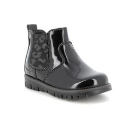 Primigi Baby Roxy Girls Black Patent Chelsea Boot