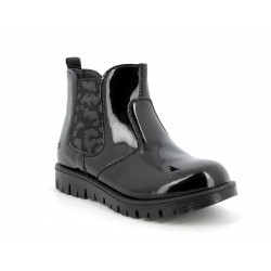Primigi Roxy Girls Black Patent Chelsea Boot