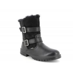 Primigi Chris Girls Black Waterproof Boot