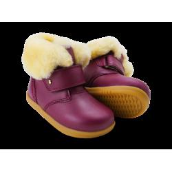 Bobux Desert Arctic Girls Warm Lined Boysenberry Boot