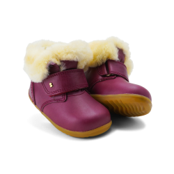 Bobux Desert Arctic Infant Girls Boysenberry Boot