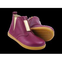 Bobux Signet Girls Boysenberry Ankle Boot