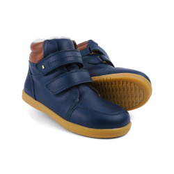 Bobux Timber Arctic Boys Warm Lined Navy Boot