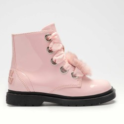 Lelli Kelly Fiocco Di Neve Unicorn Girls Pink Patent Boot