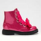 Lelli Kelly Fior Di Fiocco Bear Girls Glitter Fuchsia Boot