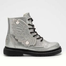 Lelli Kelly Ali Di Fata Girls Silver Glitter Boot