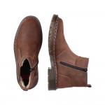 Rieker 3265023 Mens Brown Warm Chelsea Boot