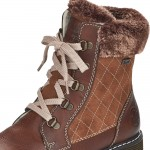 Rieker 7002524 Womens Brown Warm Lined Waterproof Boot