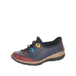 Rieker N327135 Womens Navy Shoe