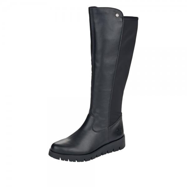 Rieker X239200 Womens Black Tall Boot
