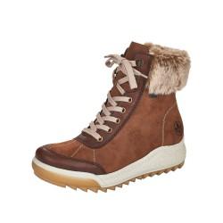 Rieker Y472024 Womens Brown Warm Lined Waterproof Boot