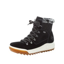 Rieker Y47330 Womens Black Warm Lined Waterproof Boot